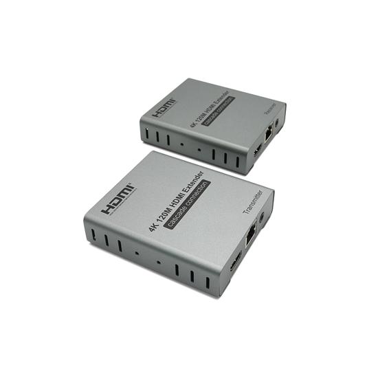 Adapter HDMI extender 120m 4k