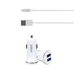 Auto punjač Inkax iPhone 1A CD-13