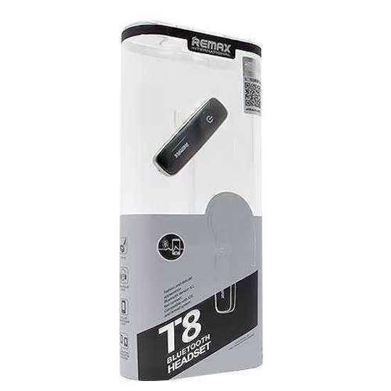 Bluetooth headset (slušalica) REMAX T8 2in1 crni