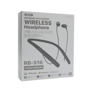 Bluetooth slušalice REMAX Sports RB-S16 crne