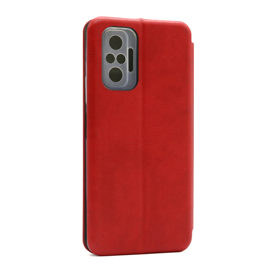 Futrola BI FOLD Ihave Gentleman za Xiaomi Redmi Note 10 Pro/10 Pro Max crvena
