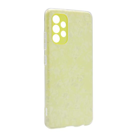 Futrola Ice Crystal za Samsung A325F Galaxy A32 4G žuta