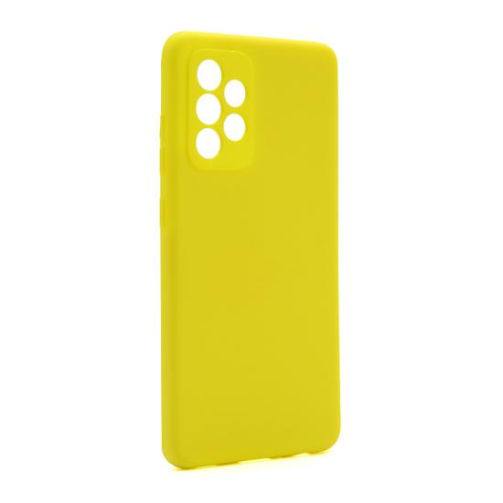 Futrola Soft Silicone za Samsung A525F/A526B Galaxy A52 4G/A52 5G žuta