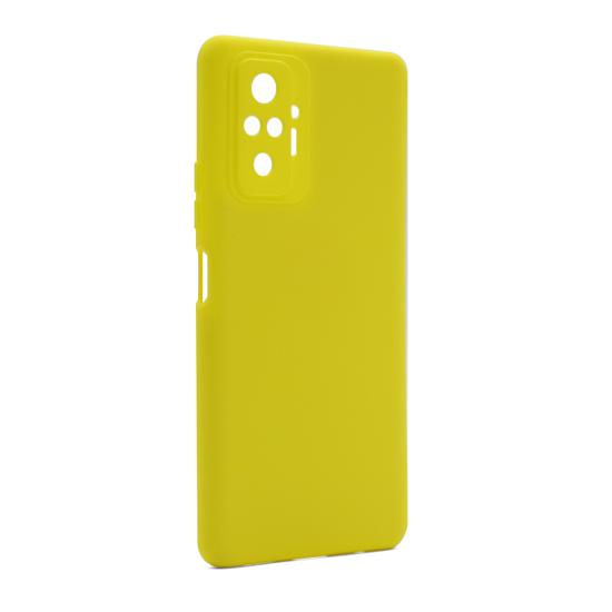 Futrola Soft Silicone za Xiaomi Redmi Note 10 Pro žuta