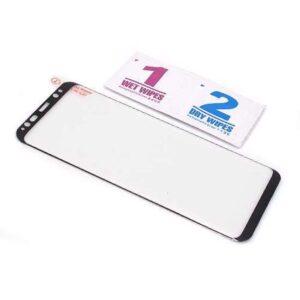 Folija za zaštitu ekrana GLASS 3D FULL GLUE NT za Samsung G950F Galaxy S8 zakrivljena crna
