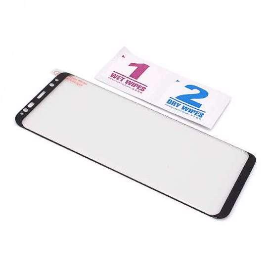 Folija za zaštitu ekrana GLASS 3D FULL GLUE NT za Samsung G955F Galaxy S8 Plus zakrivljena crna