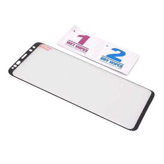 Folija za zaštitu ekrana GLASS 3D FULL GLUE NT za Samsung G965F Galaxy S9 Plus zakrivljena crna