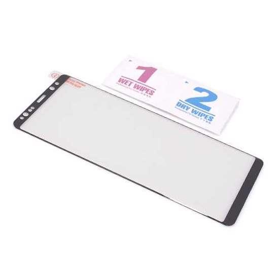 Folija za zaštitu ekrana GLASS 3D FULL GLUE NT za Samsung N950F Galaxy Note 8 zakrivljena crna