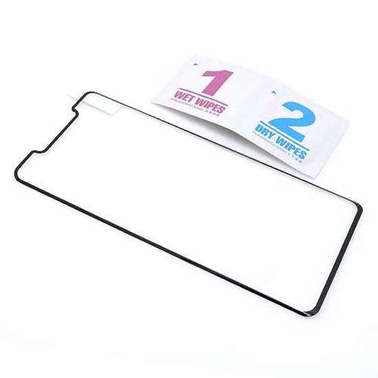 Folija za zaštitu ekrana GLASS 3D MINI FULL GLUE NT za Huawei Mate 20 Pro zakrivljena crna