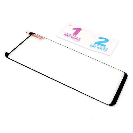 Folija za zaštitu ekrana GLASS 3D MINI FULL GLUE NT za Samsung G950F Galaxy S8 zakrivljena crna