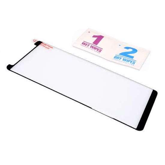 Folija za zaštitu ekrana GLASS 3D MINI FULL GLUE NT za Samsung N950F Galaxy Note 8 zakrivljena crna