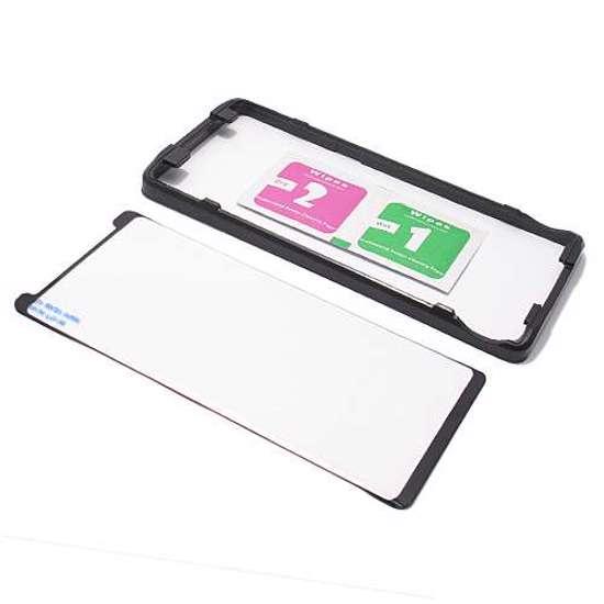 Folija za zastitu ekrana GLASS 3D MINI FULL GLUE za Samsung N950F Galaxy Note 8 zakrivljena crna