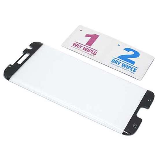 Folija za zaštitu ekrana GLASS 3D MINI za Samsung G935 Galaxy S7 Edge zakrivljena crna