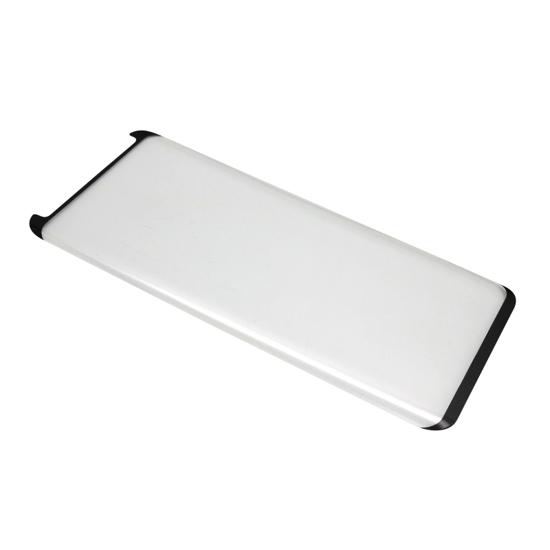 Folija za zaštitu ekrana GLASS 3D MINI za Samsung G950F Galaxy S8 zakrivljena crna