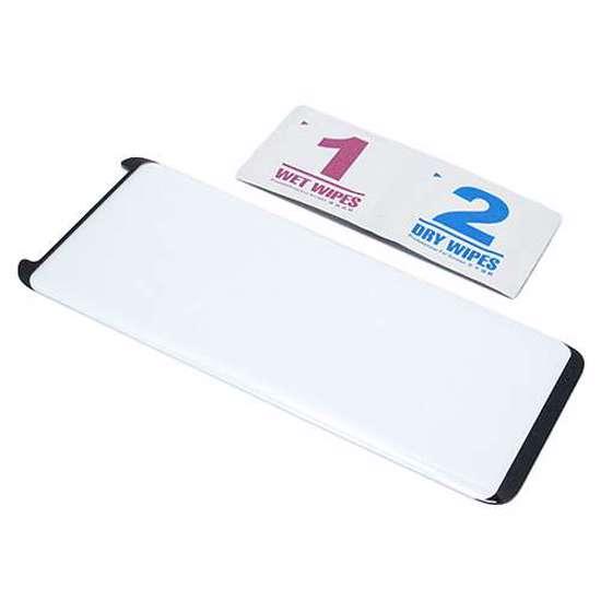 Folija za zaštitu ekrana GLASS 3D MINI za Samsung G955F Galaxy S8 Plus zakrivljena crna