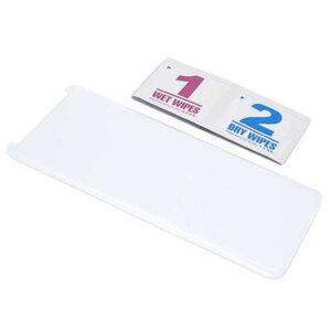 Folija za zaštitu ekrana GLASS 3D MINI za Samsung G955F Galaxy S8 Plus zakrivljena providna