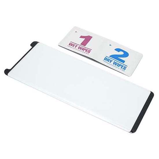 Folija za zaštitu ekrana GLASS 3D MINI za Samsung N950F Galaxy Note 8 zakrivljena crna