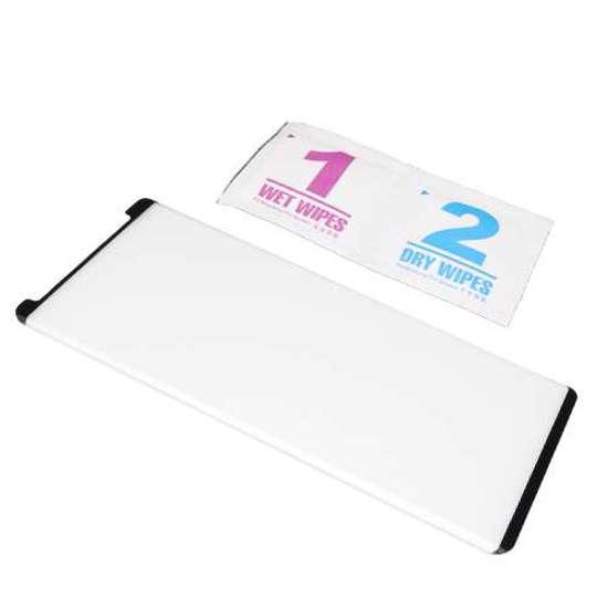 Folija za zaštitu ekrana GLASS 3D MINI za Samsung N960F Galaxy Note 9 zakrivljena crna