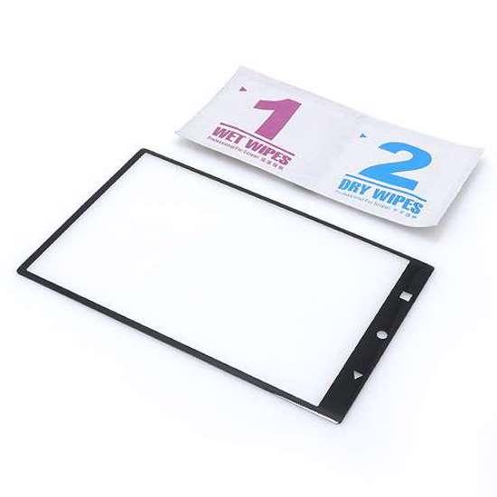 Folija za zaštitu ekrana GLASS 3D za Blackberry Keyone crna