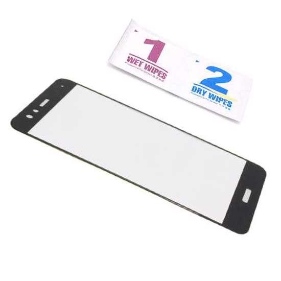Folija za zaštitu ekrana GLASS 3D za Huawei P10 Lite crna