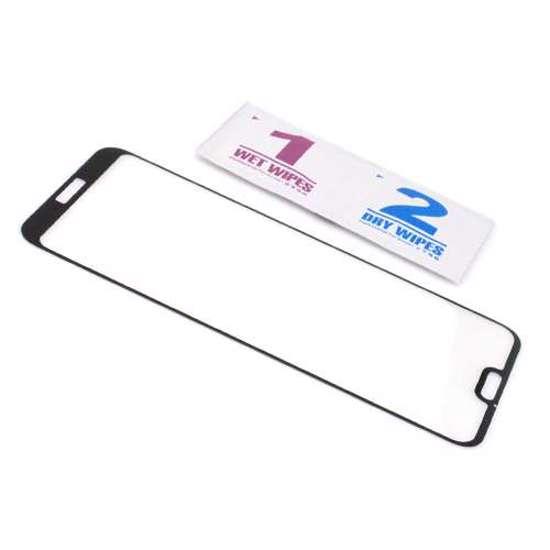 Folija za zaštitu ekrana GLASS 3D za Huawei P20 Lite crna