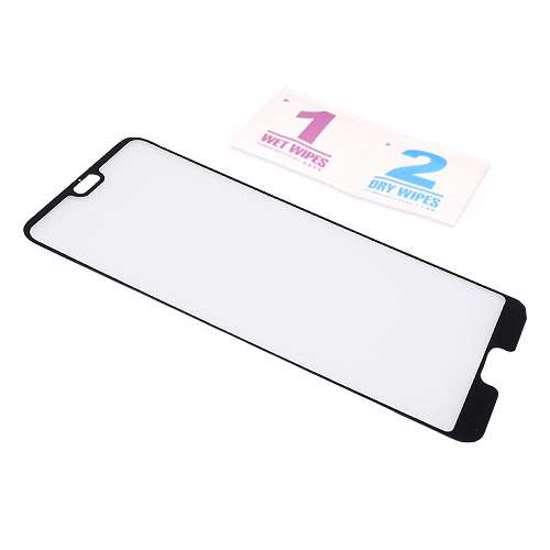 Folija za zaštitu ekrana GLASS 3D za Huawei P20 Pro crna