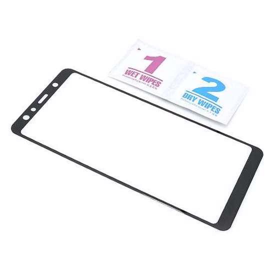 Folija za zaštitu ekrana GLASS 3D za Samsung A750F Galaxy A7 2018 crna