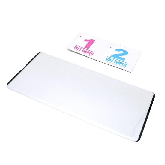 Folija za zaštitu ekrana GLASS 3D za Samsung G977U Galaxy S10 5G zakrivljena crna