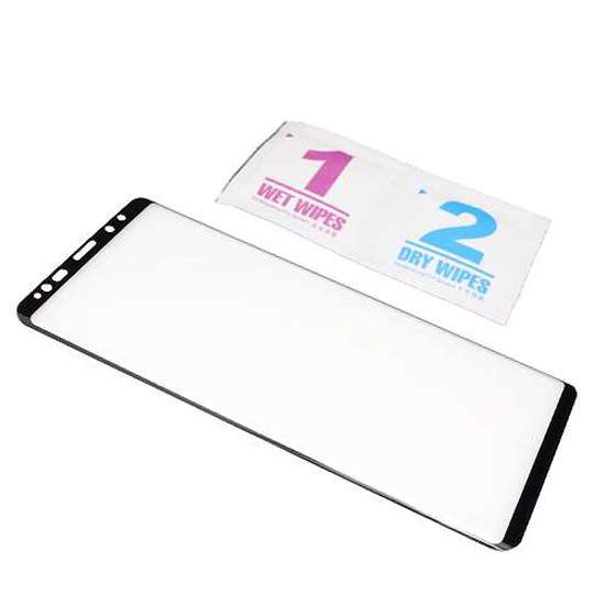 Folija za zaštitu ekrana GLASS 3D za Samsung N960F Galaxy Note 9 zakrivljena crna