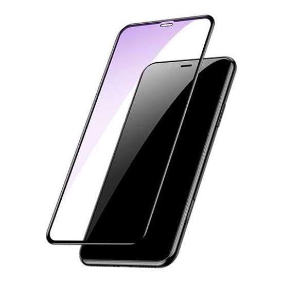 Folija za zaštitu ekrana GLASS BASEUS ARC za Iphone XS Max crna 3D