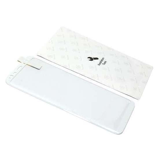 Folija za zaštitu ekrana GLASS BASEUS ARC za Samsung G950F Galaxy S8 bijela 3D
