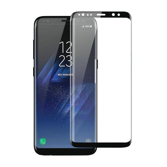 Folija za zaštitu ekrana GLASS BASEUS ARC za Samsung G950F Galaxy S8 crna 3D