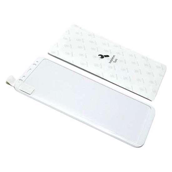 Folija za zaštitu ekrana GLASS BASEUS ARC za Samsung G955F Galaxy S8 Plus bijela 3D