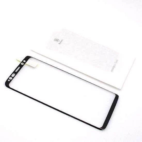 Folija za zaštitu ekrana GLASS BASEUS ARC za Samsung G960F Galaxy S9 crna 3D
