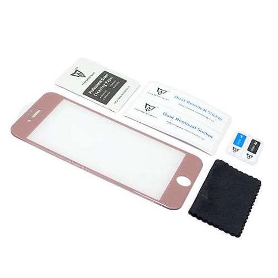 Folija za zaštitu ekrana GLASS MONSTERSKIN 3D za Iphone 6G-6S roze