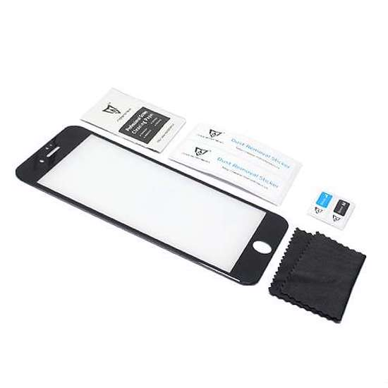 Folija za zaštitu ekrana GLASS MONSTERSKIN 3D za Iphone 7 Plus crna