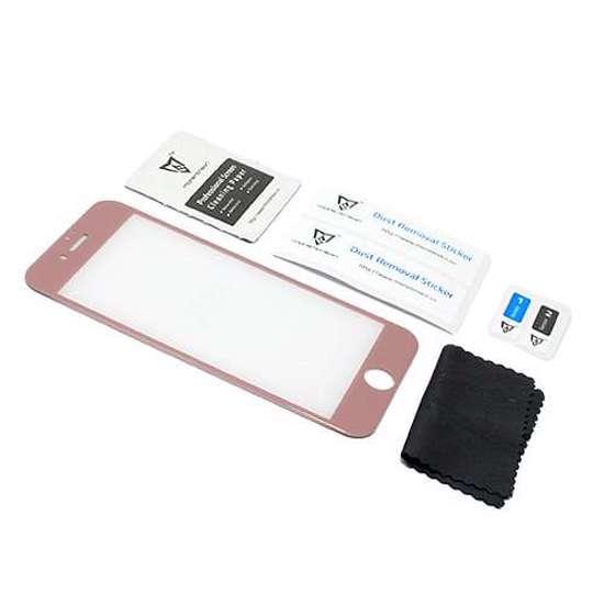 Folija za zaštitu ekrana GLASS MONSTERSKIN 3D za Iphone 7 roze