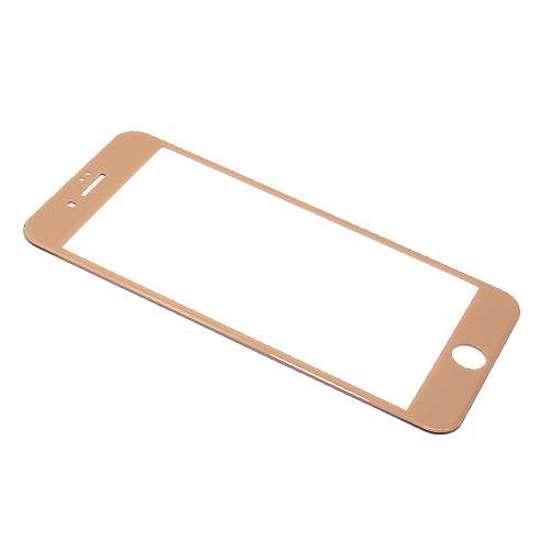 Folija za zaštitu ekrana GLASS MONSTERSKIN 3D za Iphone 8 Plus zlatna