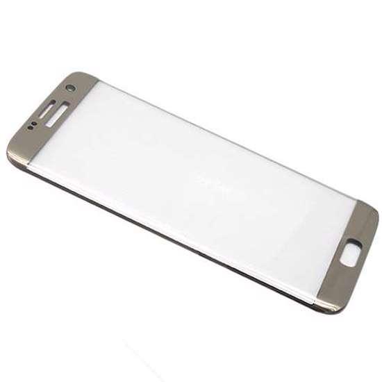 Folija za zaštitu ekrana GLASS MONSTERSKIN 3D za Samsung G935 Galaxy S7 Edge zlatna