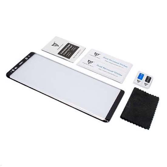Folija za zaštitu ekrana GLASS MONSTERSKIN 3D za Samsung N950F Galaxy Note 8 crna