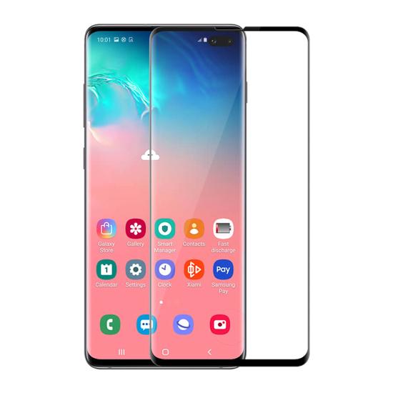 Folija za zaštitu ekrana GLASS NILLKIN za Samsung G975F Galaxy S10 Plus 3D CP+ MAX crna