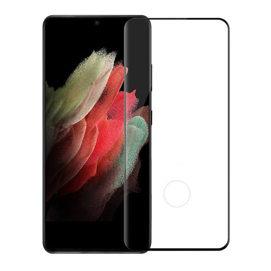 Folija za zaštitu ekrana GLASS NILLKIN za Samsung G998F Galaxy S21 Ultra/S30 Ultra 3D CP+ MAX crna
