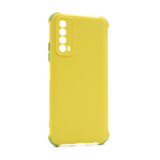 Futrola CRASHPROOF COLORFUL za Huawei P Smart 2021/Y7a žuta