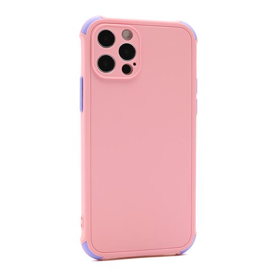 Futrola CRASHPROOF COLORFUL za Iphone 12 Pro (6.1) roze