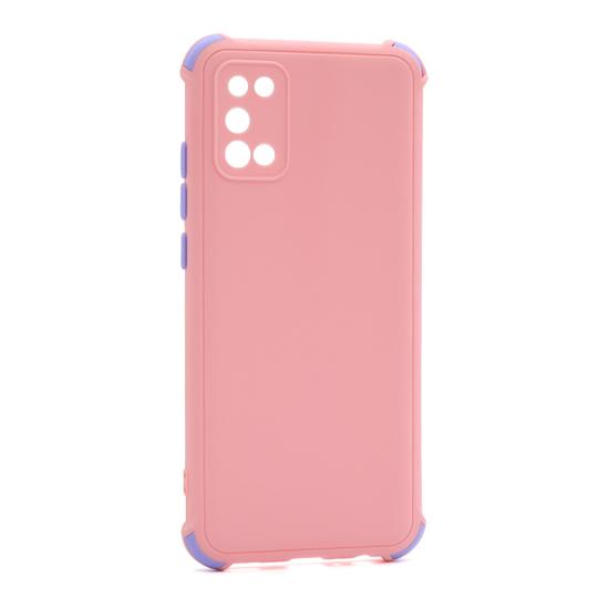Futrola CRASHPROOF COLORFUL za Samsung A025G Galaxy A02s roze