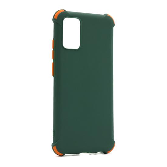 Futrola CRASHPROOF COLORFUL za Samsung A025G Galaxy A02s tamno zelena