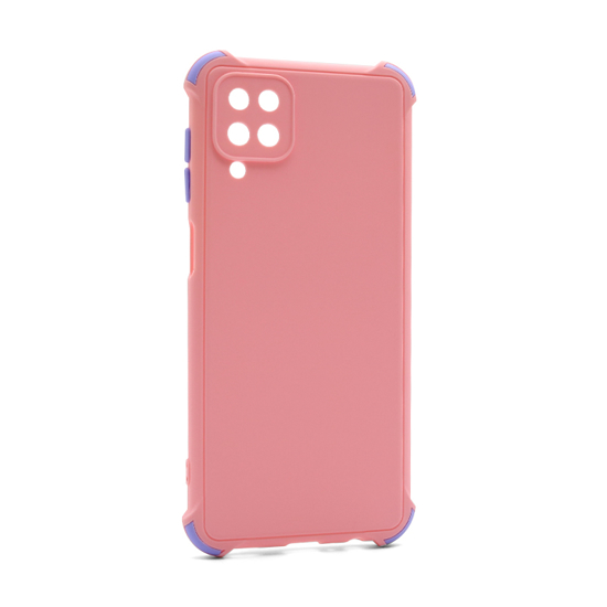 Futrola CRASHPROOF COLORFUL za Samsung A125F Galaxy A12 roze
