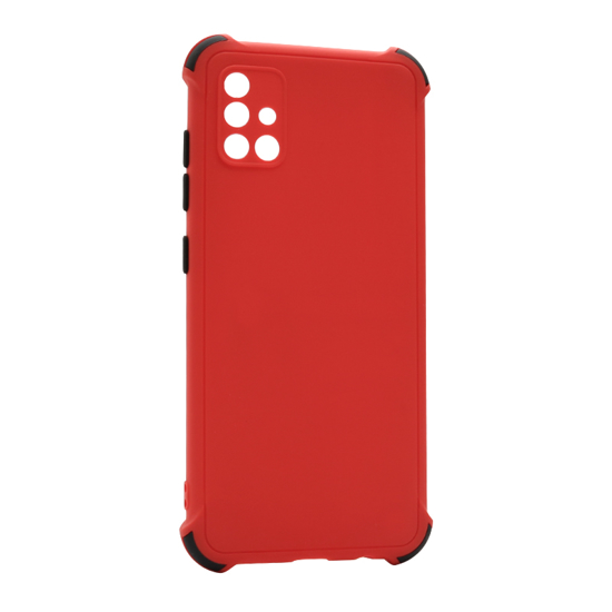 Futrola CRASHPROOF COLORFUL za Samsung A515F Galaxy A51 crvena