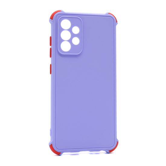 Futrola CRASHPROOF COLORFUL za Samsung A525F/A526B Galaxy A52 4G/A52 5G lila