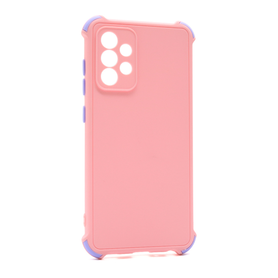 Futrola CRASHPROOF COLORFUL za Samsung A525F/A526B Galaxy A52 4G/A52 5G roze